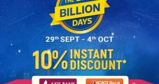 Flipkart BBD Offers