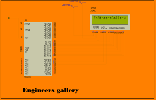 small resolution of how to create text animation on 16 2 lcd using 8051 microcontroller at89c51