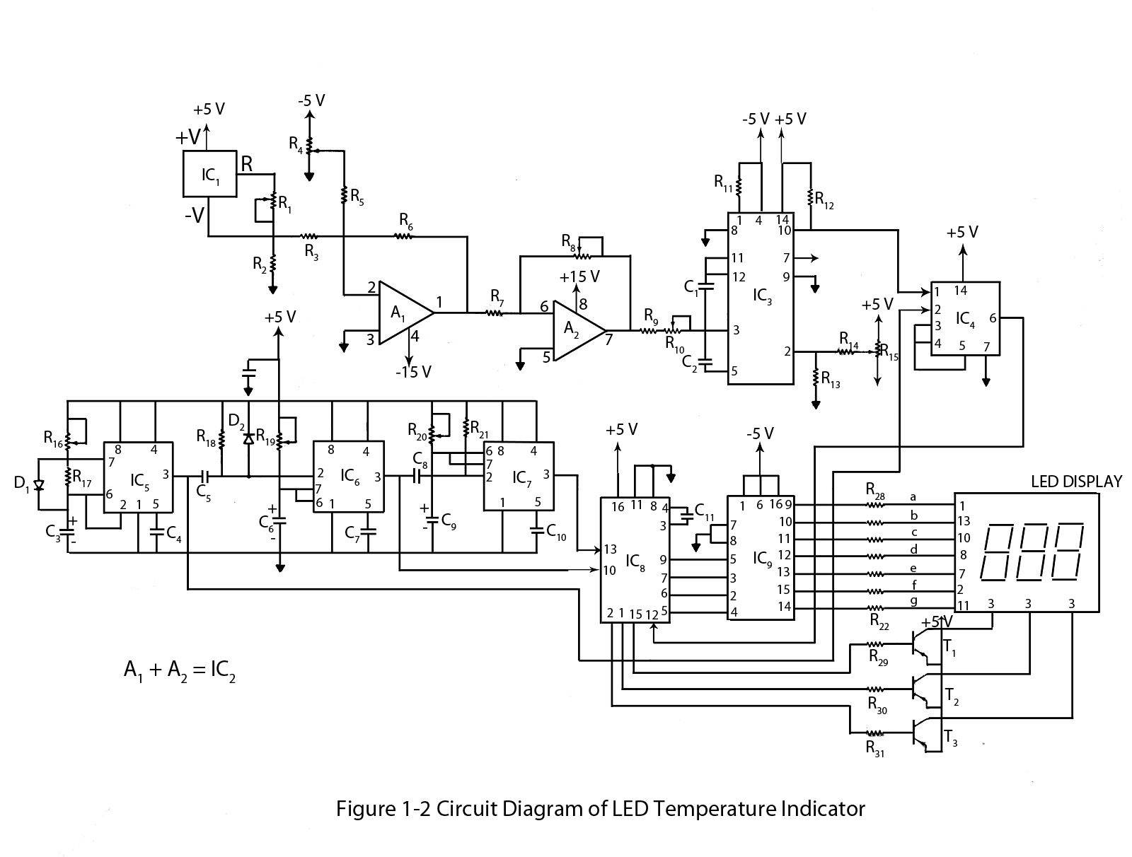 10 watt led driver circuit diagram 1998 dodge dakota trailer wiring advanced temperature indicator engineers gallery