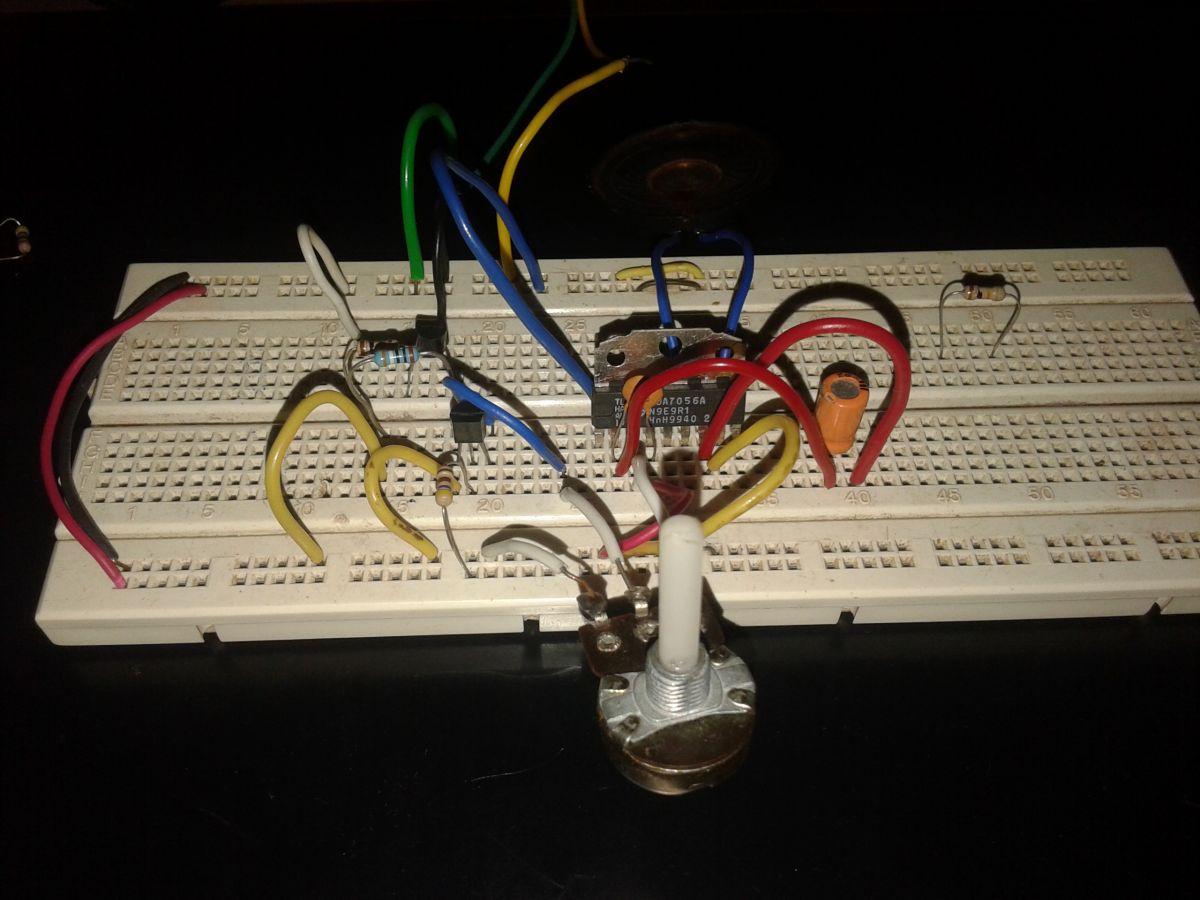 Circuit Diagram Btl Mono Amplifier With Dc Volume Control Circuit