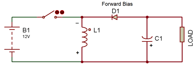 circuit diagram of buck boost converter transfer switch kende hz8b 20 3 4 designing open loop non isolated inverting off state switching component in