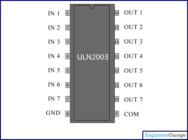 wiring diagram for 5 pin relay 07 dodge caliber starter uln2003 description | current driver ic datasheet