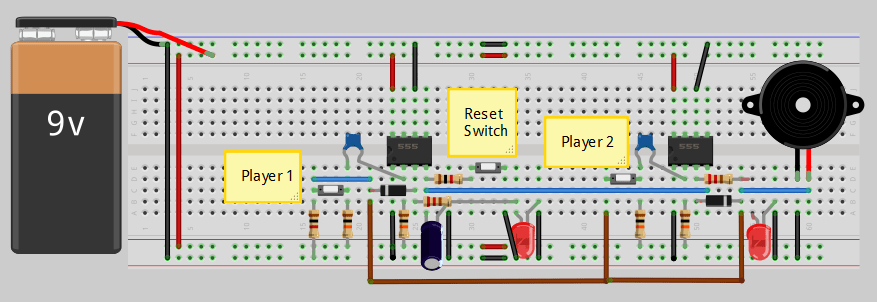 automotive wiring diagram software relay starter motor 2-1 quiz buzzer circuit - engineersgarage