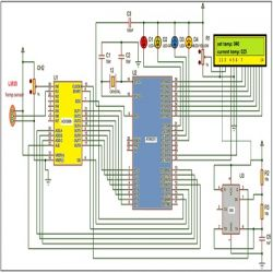 digital temperature controller circuit diagram lutron 3 way switch industrial control system engineersgarage of