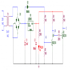 Control Wiring Diagram For Single Phase Motor 4 Flat House Plan In Nigeria Ac Speed Controller Engineersgarage Circuit Zero Cross Detector