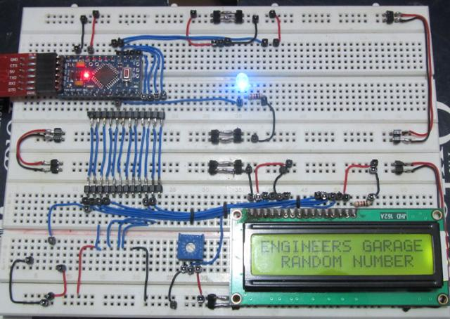 Random Number Generator Using 8051