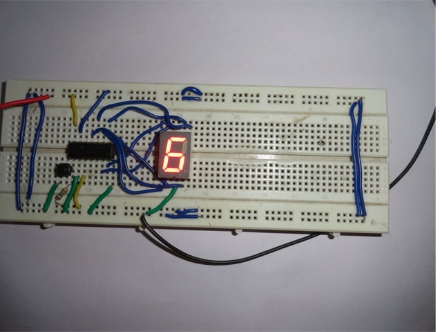 Segment Display Wiring Diagram