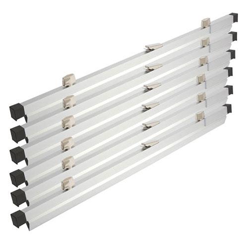 Brookside Design Premium 24 Blueprint Hanging Clamps