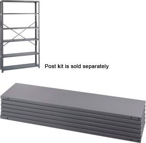 safco industrial steel shelving