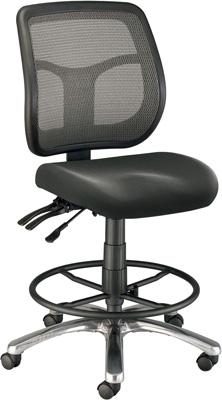 chair mesh stool black spandex covers rental alvin argentum back drafting ch728 45dh engineersupply