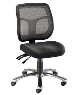 mesh back chairs for office amazon chair alvin ch728 45 argentum height es7262