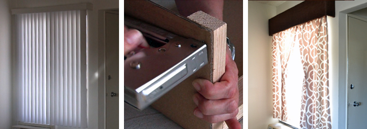 How to make a window cornice  Smart DIY Solutions for Renters