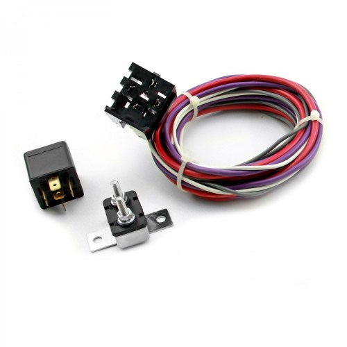 small resolution of electric fan wiring harness kit w relay