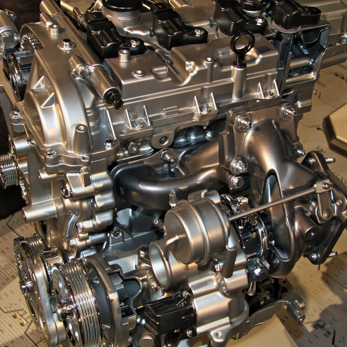 hight resolution of more views of the new 2 0 liter ecotec crate engine from chevy performance the front accessory drive is pulled directly from the cadillac ats