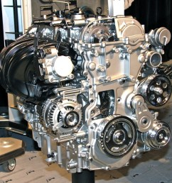more views of the new 2 0 liter ecotec crate engine from chevy performance the front accessory drive is pulled directly from the cadillac ats  [ 1200 x 1200 Pixel ]