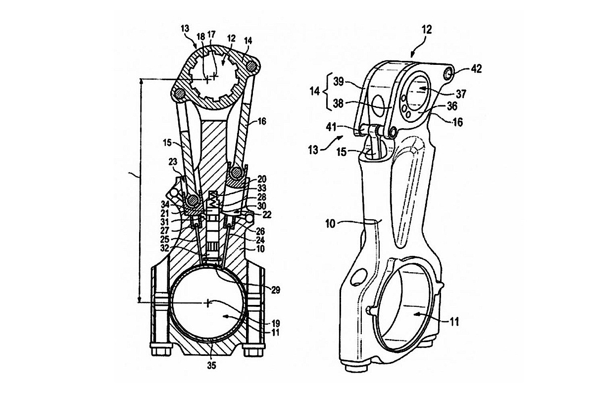 Porsche Working On Variable Compression Connecting Rod