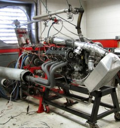900 horsepower from a supercharged 30 year old porsche 928 engine [ 1678 x 1119 Pixel ]