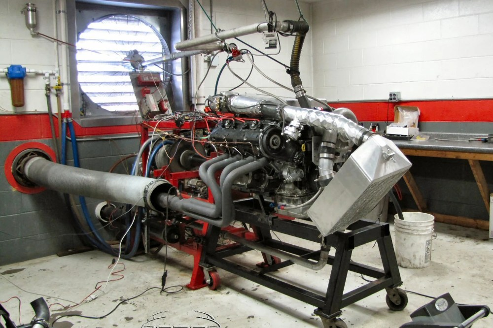 medium resolution of 900 horsepower from a supercharged 30 year old porsche 928 engine