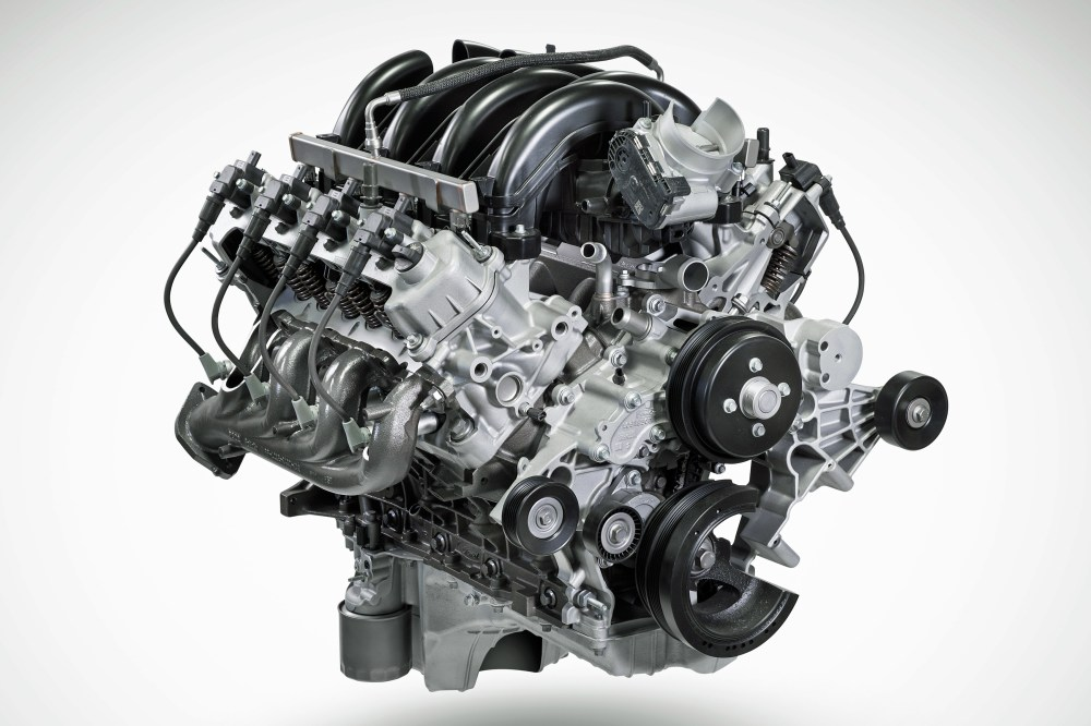 medium resolution of the ford pushrod returns with the new godzilla 7 3l ohv big block