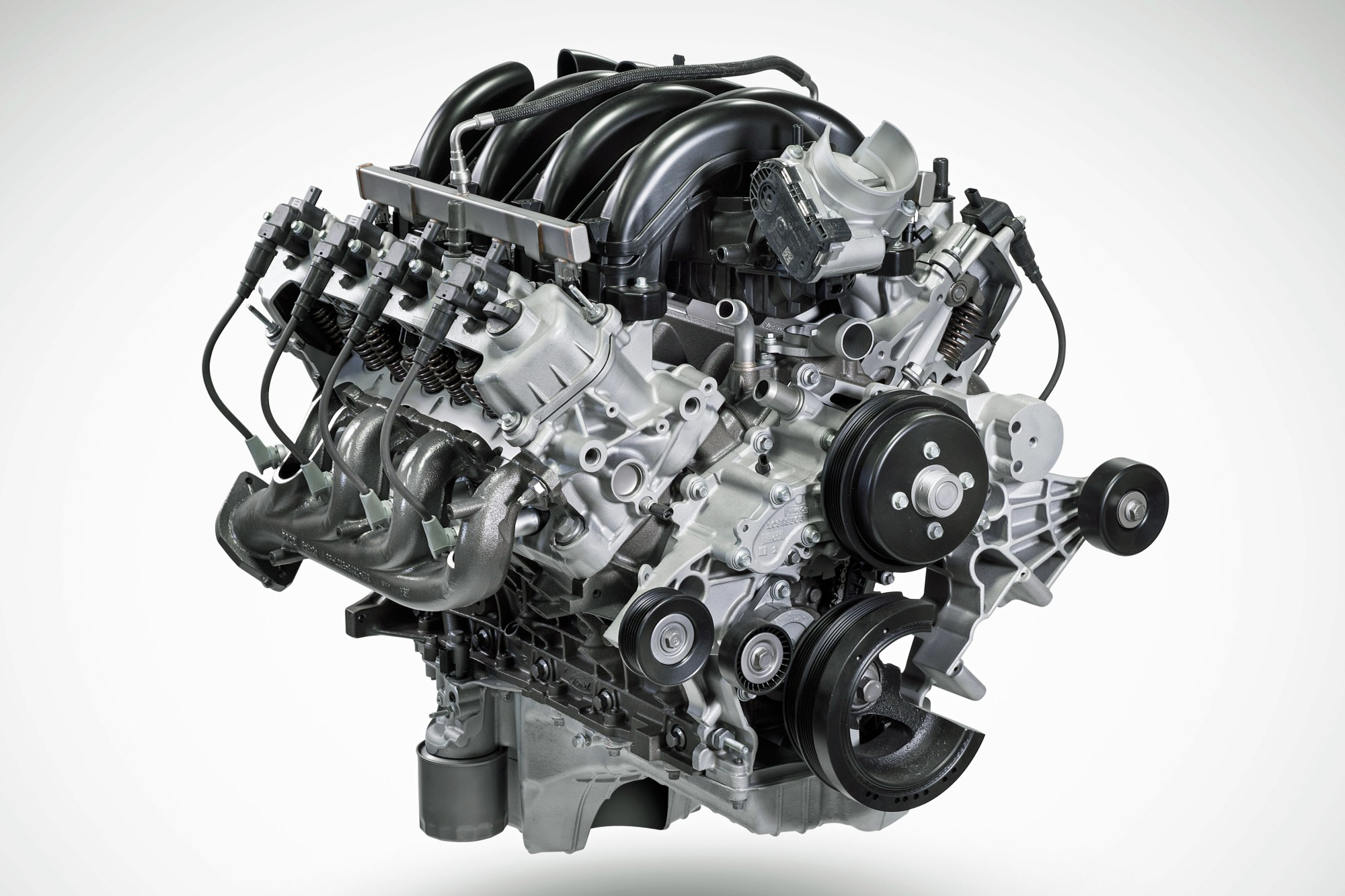 hight resolution of the ford pushrod returns with the new godzilla 7 3l ohv big block
