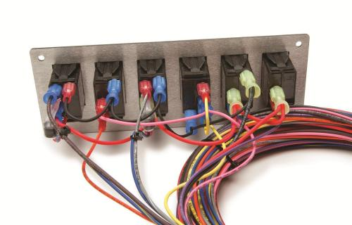 small resolution of painless 10 circuit race only wire harness with 6 switch control panel pw50005