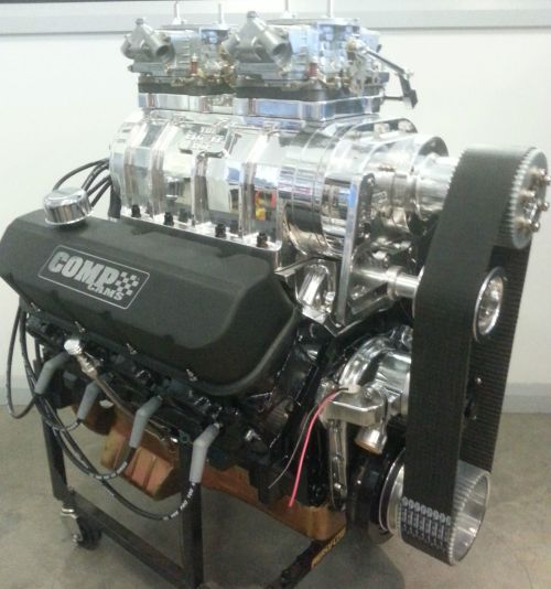 small resolution of blown chevy 502ci big block 6 71 supercharger 722h