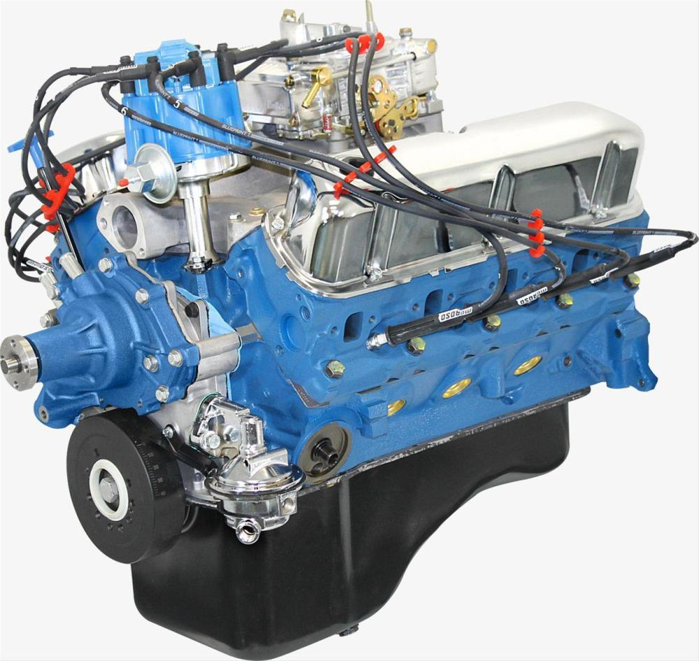 medium resolution of blueprint bp3024ctc ford 302 300hp dressed crate engine ford 302 motor wiring
