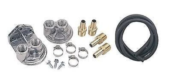 DERALE OIL FILTER RELOCATION KIT GM 13/16-16
