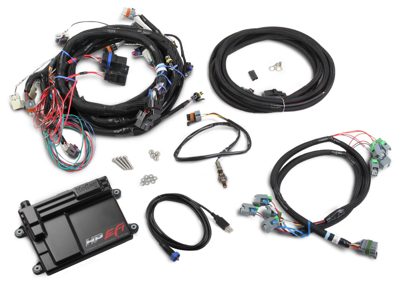 hight resolution of holley hp efi ecu harness kit ho550 603 suit gm ls2 ls3 ls7 58x crank sensor