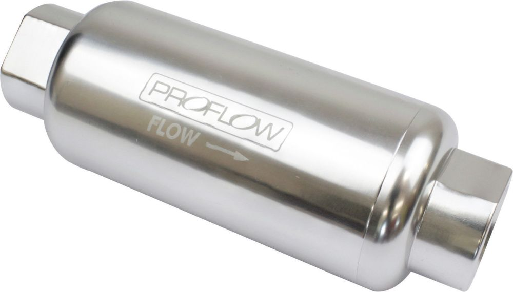 medium resolution of proflow pfefs302p fuel filter an12 40 micron silver
