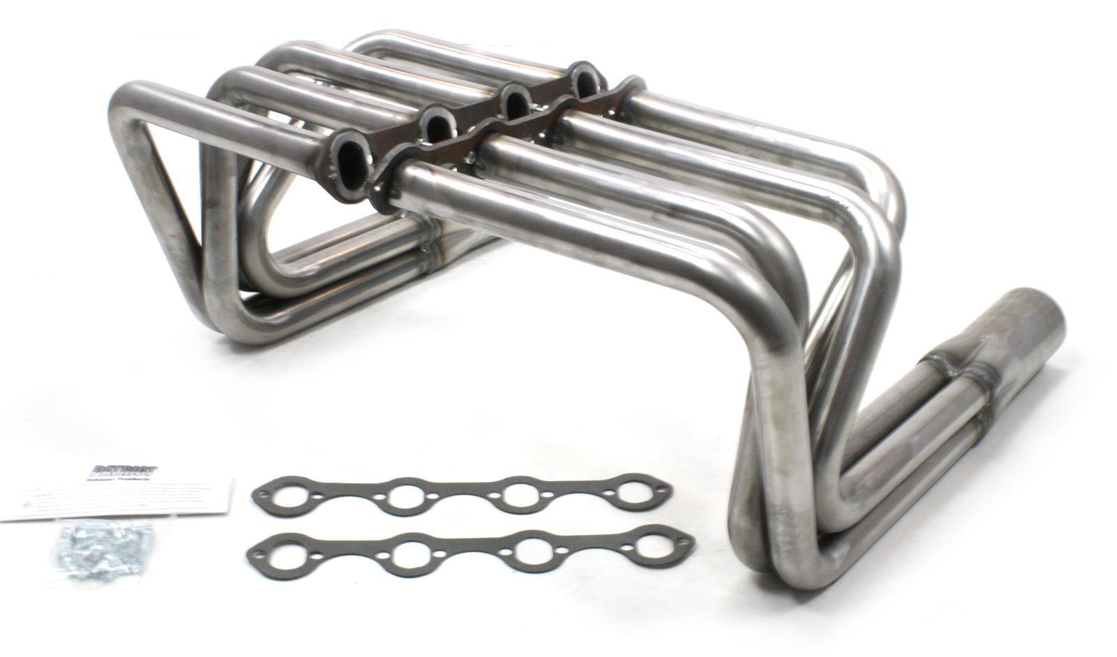 Patriot T Bucket Sprint Headers Path Raw Finish Suit