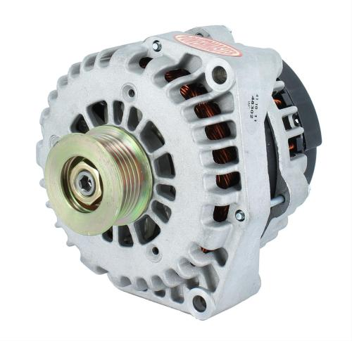 small resolution of powermaster gm style ad alternator pm48302 natural 215 amp 2 pin 6 rib pulley