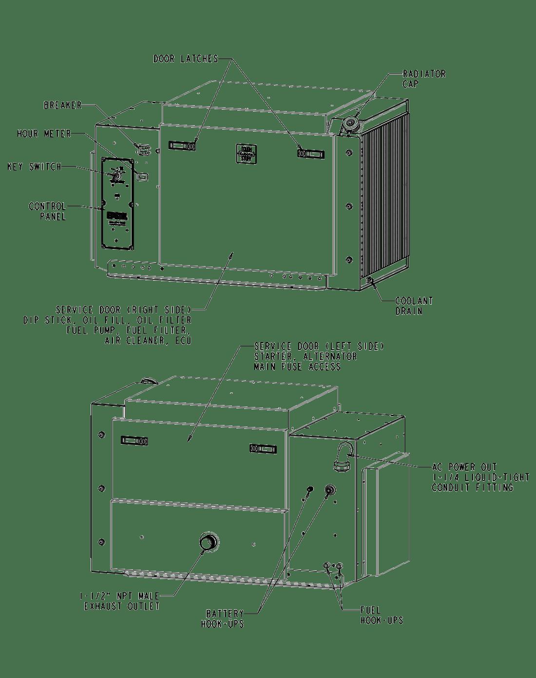 14 Kwsel Generator Details