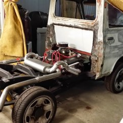 Wheelchair Van Parts Atlas Tables And Chairs 1970 Daihatsu Hijet Powered By A Mid-engine V8 – Engine Swap Depot