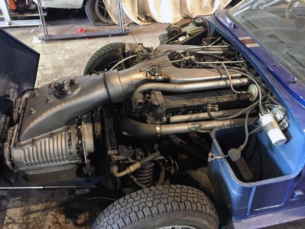 2003 Jaguar Fuel Filter For Sale Triumph Spitfire With A Twin Supercharged Jaguar