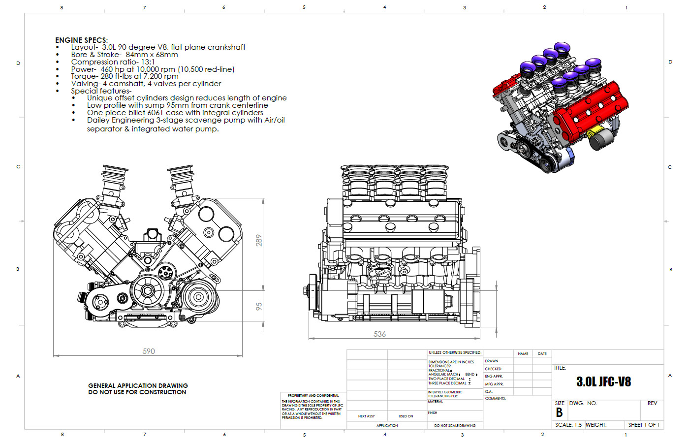 Jfc Racing Purchased Hartley S 3 0 L Bolt V8 To Develop