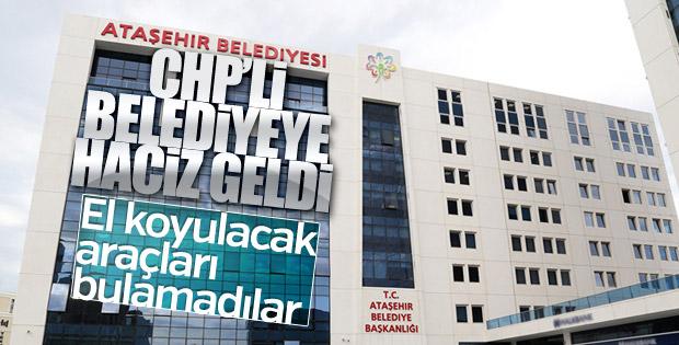 Ataşehir Belediyesi'ne haciz geldi