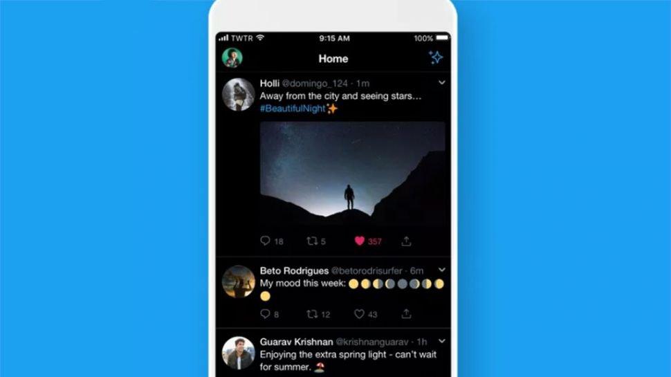 Twitter'ın Koyu Modu, OLED İçin İyice Karardı!