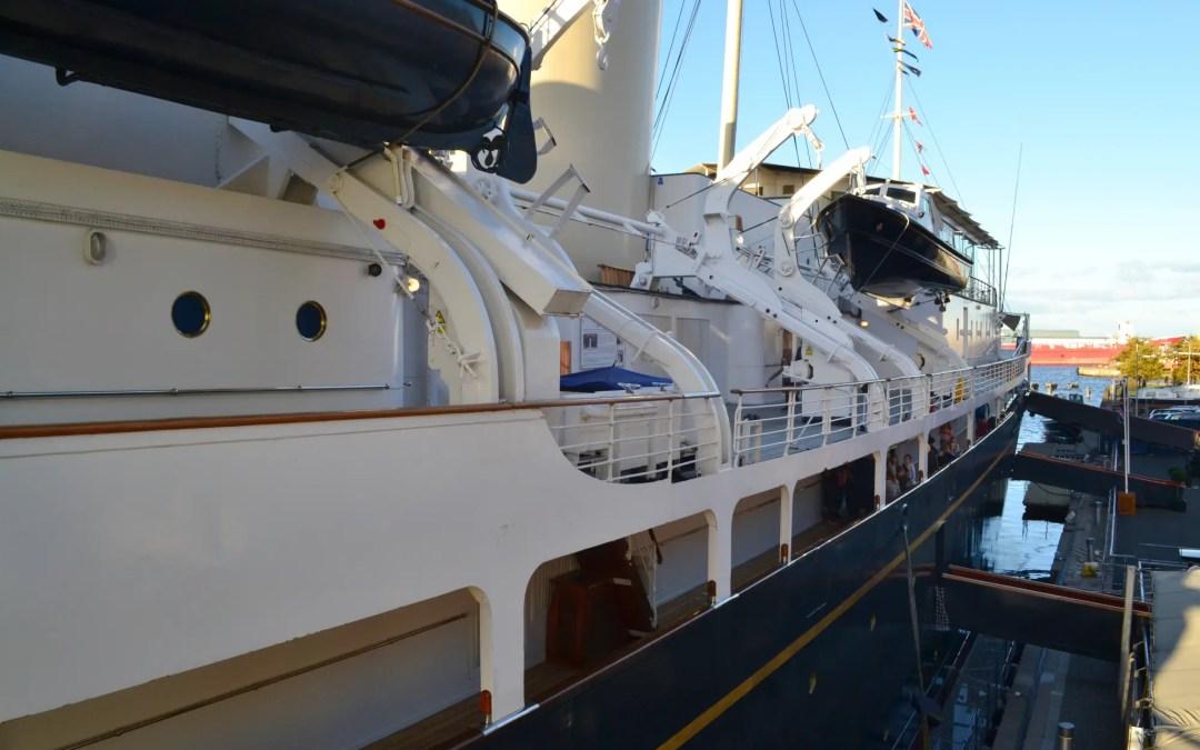 Royal Yacht Britannia Aussenansicht