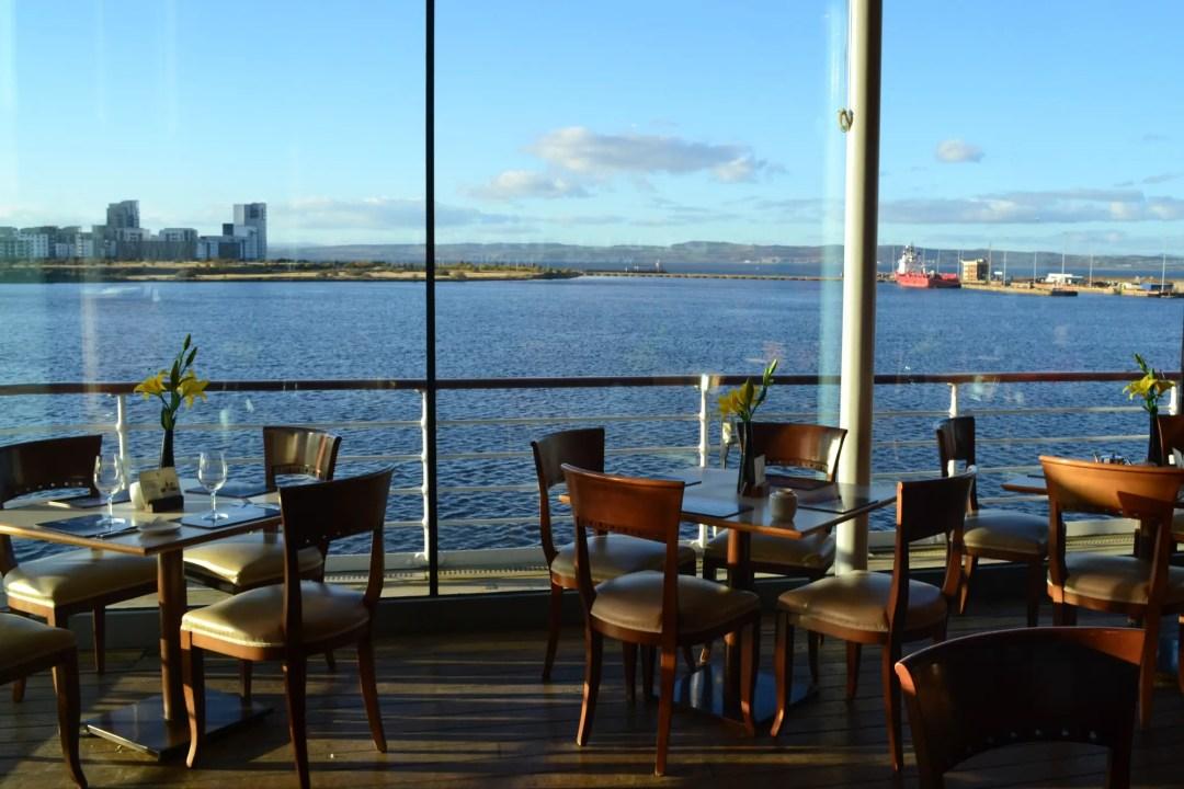 Royal Yacht Britannia Café