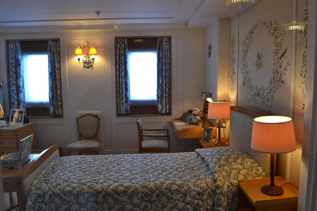 Royal Yacht Britannia Schlafzimmer