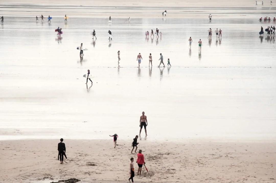 Einer der schönsten Strände in Cornwall: Fistral Beach