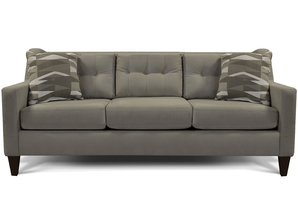 tufted gray sofa banquette restaurant england furniture whats inside