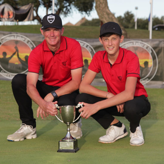 Father and son triumph for Staffordshire pair