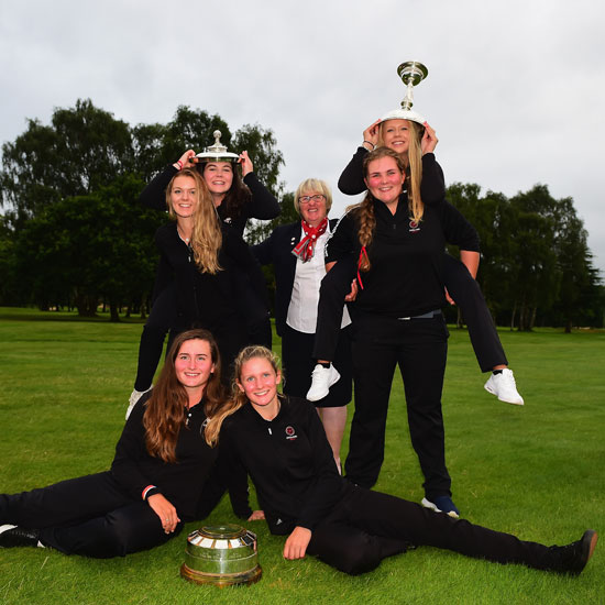 England's girls reclaim their crown