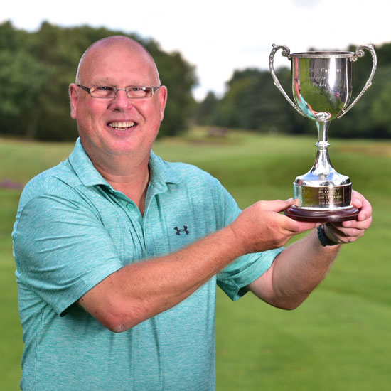 Chris is England's champion golf club captain