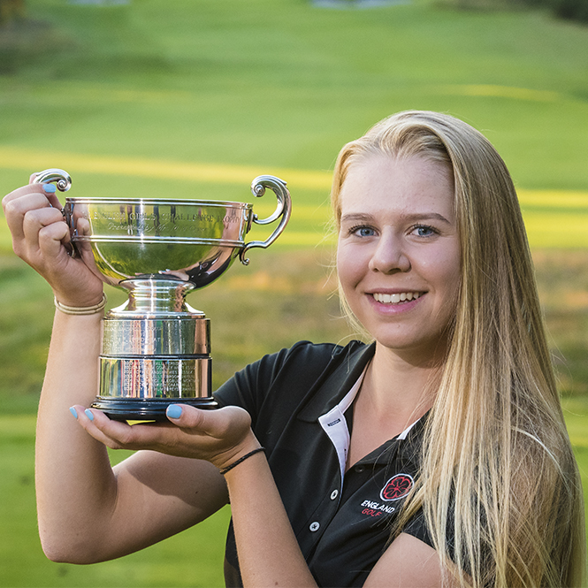 Annabell birdies her way to play-off victory