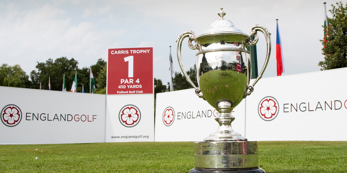 English U18 Boys' Open Amateur Stroke Play for the Carris Trophy