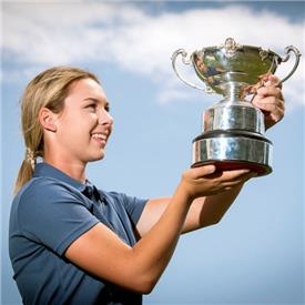 Ashleigh wins England's 'most improved' title