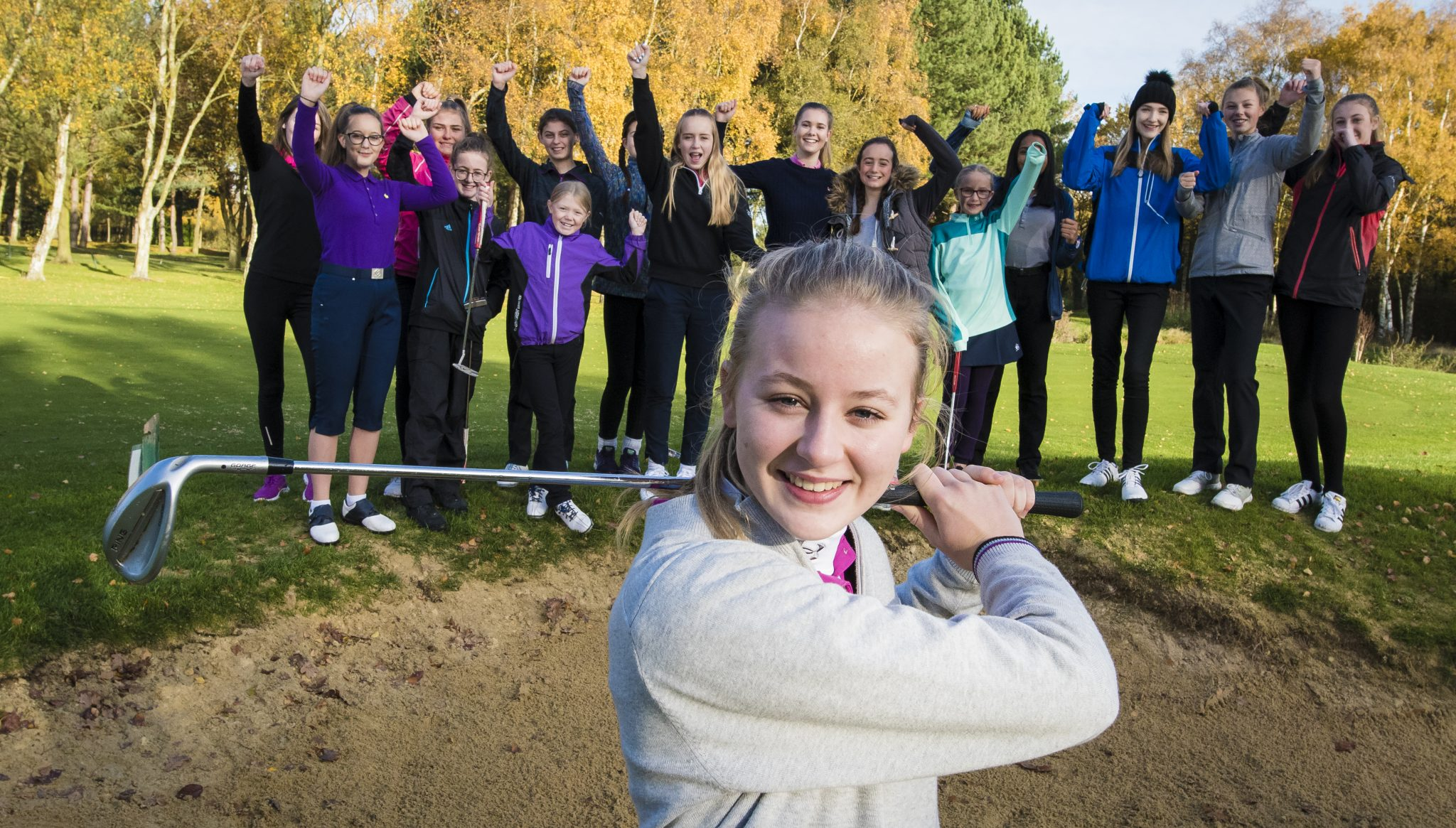 Find a Girls Golf Rocks session